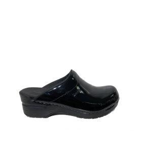 Sanita - Sonja Patent Clogs